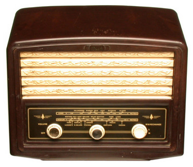 Image result for radios 1950s images