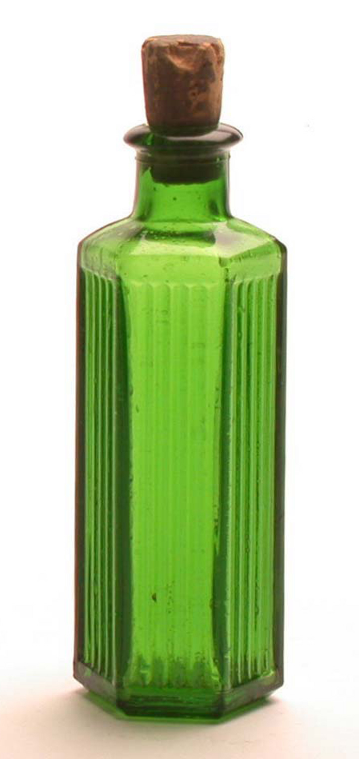 poison beware this poison bottle is made out of green