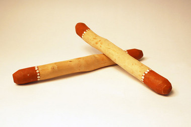 Aboriginal dance sticks