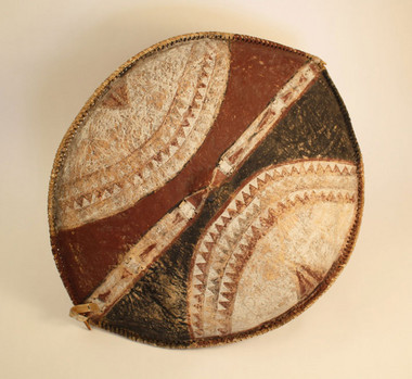 Maasai Shield, East Africa | Object Lessons - Conflict