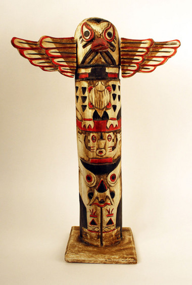 totem pole north west coast native american object lessons