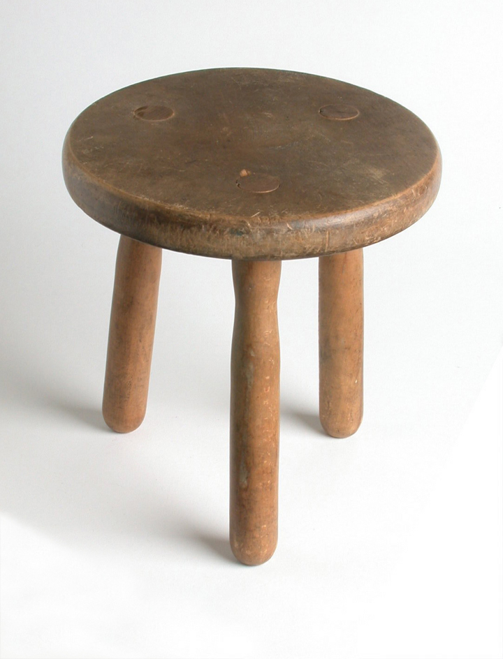 Milking Stool Victorian Original Object Lessons Work