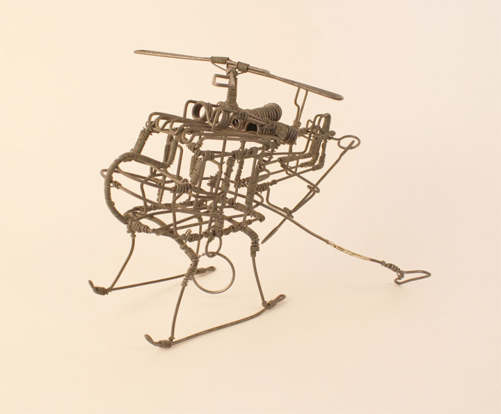 Wire Helicopter Toy Zimbabwe Object Lessons Childhood