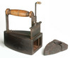 Victorian Box Iron With Slug