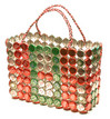 Recycled Bottle Top Basket - Zimbabwe