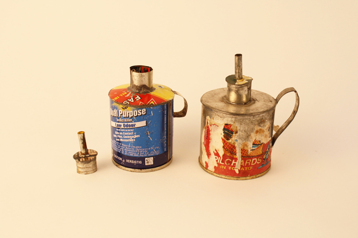 Recycled Oil Lamps