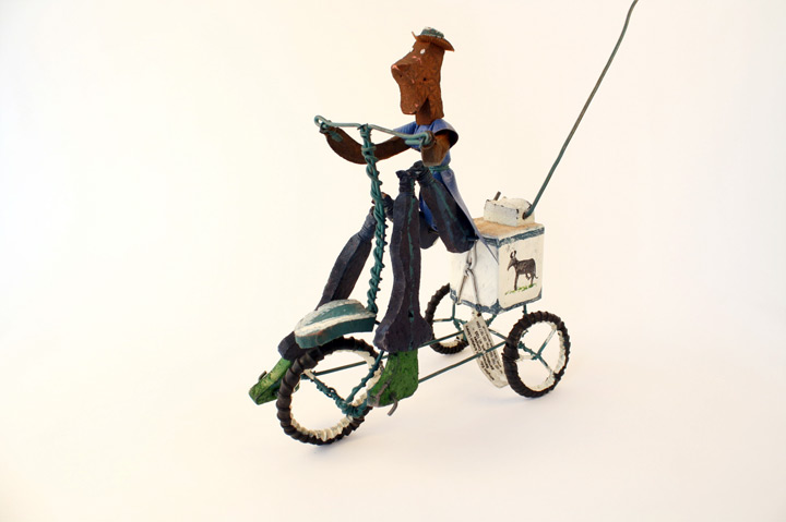 Toys From Africa : Ice cream cyclist reused materials zimbabwe object lessons re