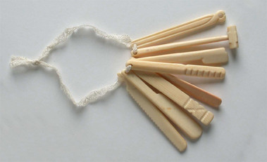 Teething Pegs - Edwardian