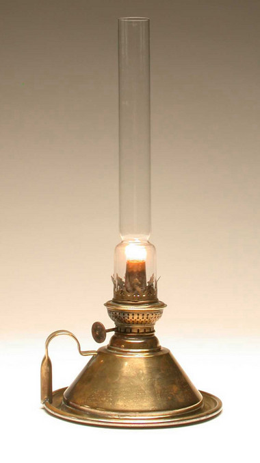 Oil Lamp Victorian Original Object
