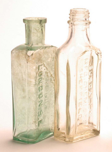 Victorian Dispensing Bottles
