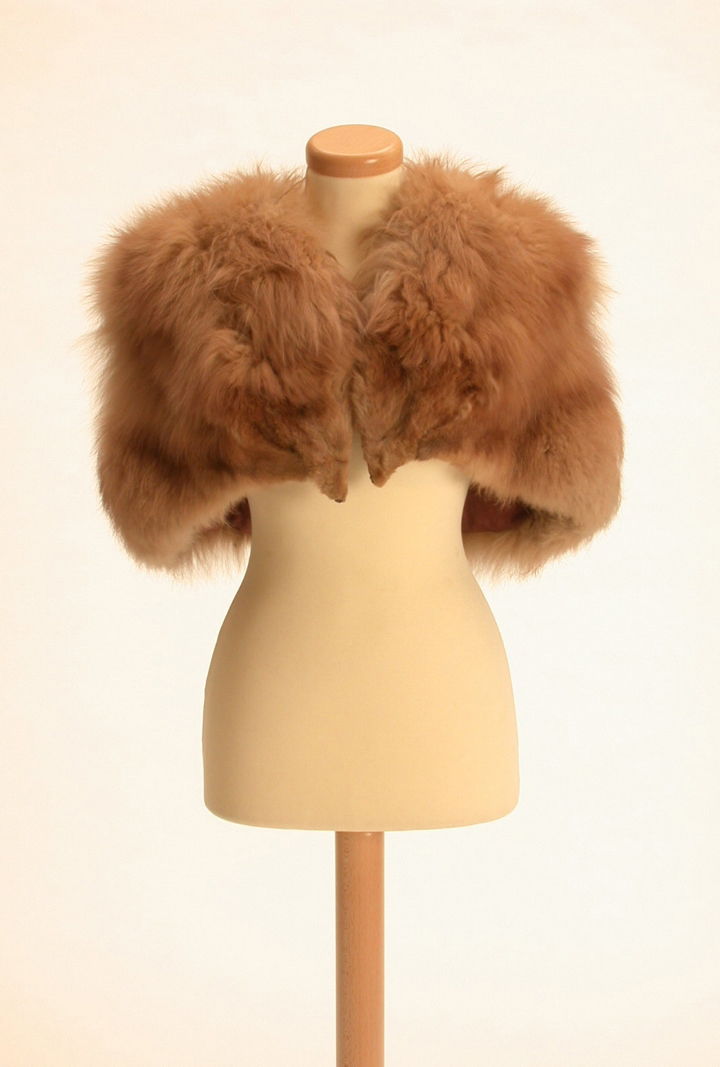 Utility Fur Shoulder Cape