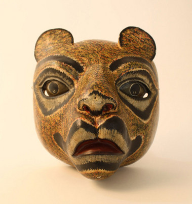 Lioness Mask Bali Indonesia Object Lessons Ceremony