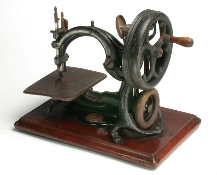Sewing Machine Victorian Original Object Lessons Work Impressive Original Sewing Machine