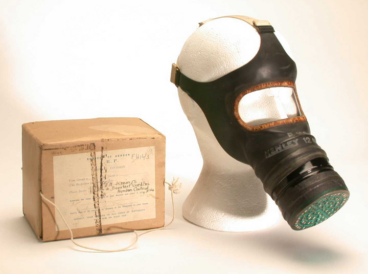 Adult's Gas Mask
