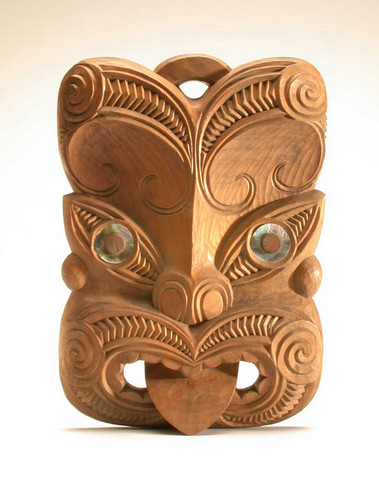 Maori mask new zealand object lessons ceremony