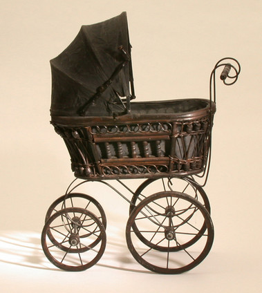 Doll S Pram Victorian Replica Object Lessons