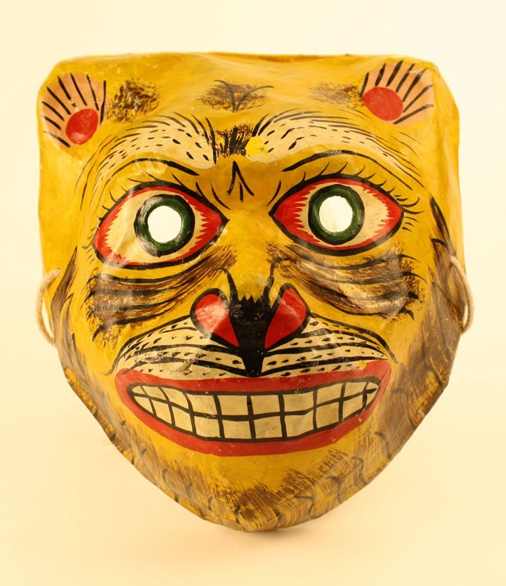 Indian Paper Mask